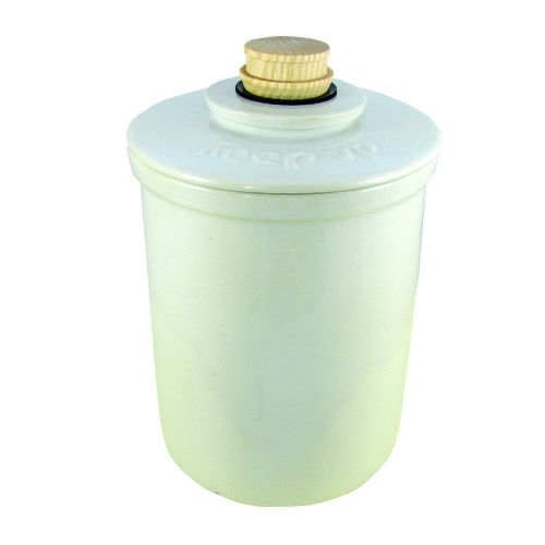 VINEGAR JAR KEEP UP BLANC 3,5L