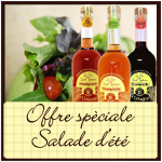 TRIO 50 CL 3 vinegars (6 spices, red wine and white wine)